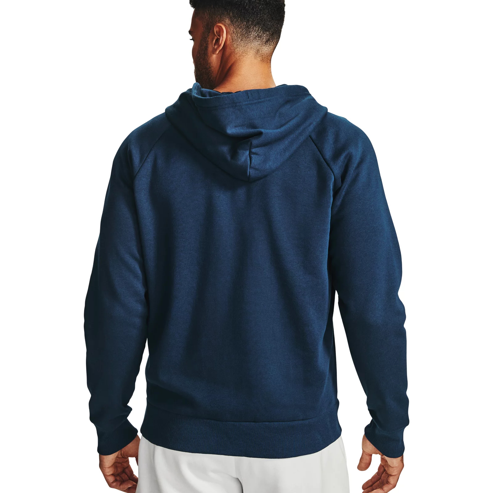 Толстовка Rival Fleece FZ Hoodie Under Armour Синий фото 19
