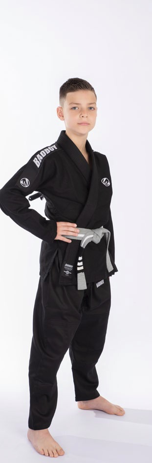 Кимоно Детское Bad Boy Focus BJJ Gi с поясом Black фото 2