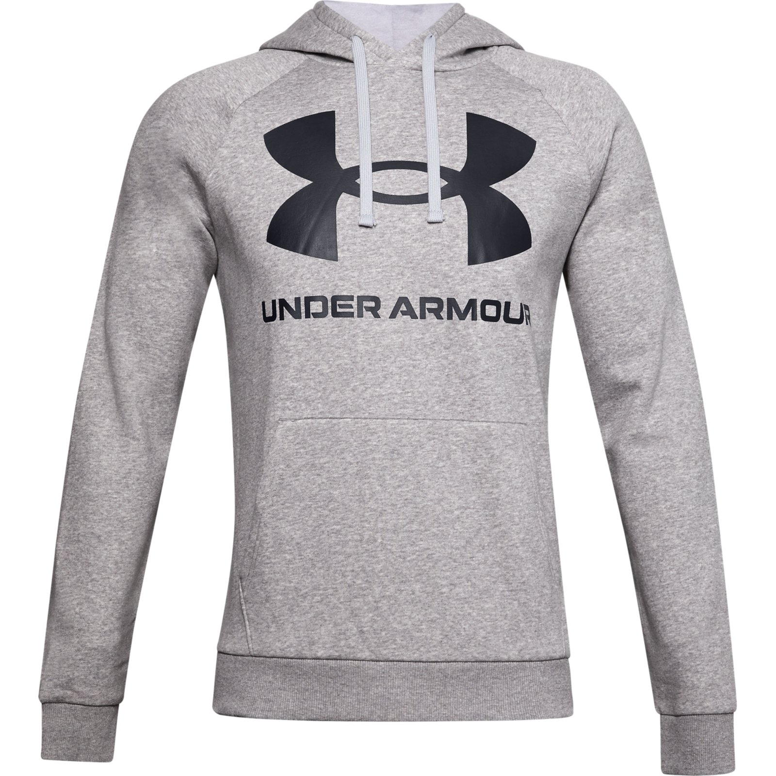 Худи Rival Fleece Big Logo Hoodie Under Armour Серый фото 5