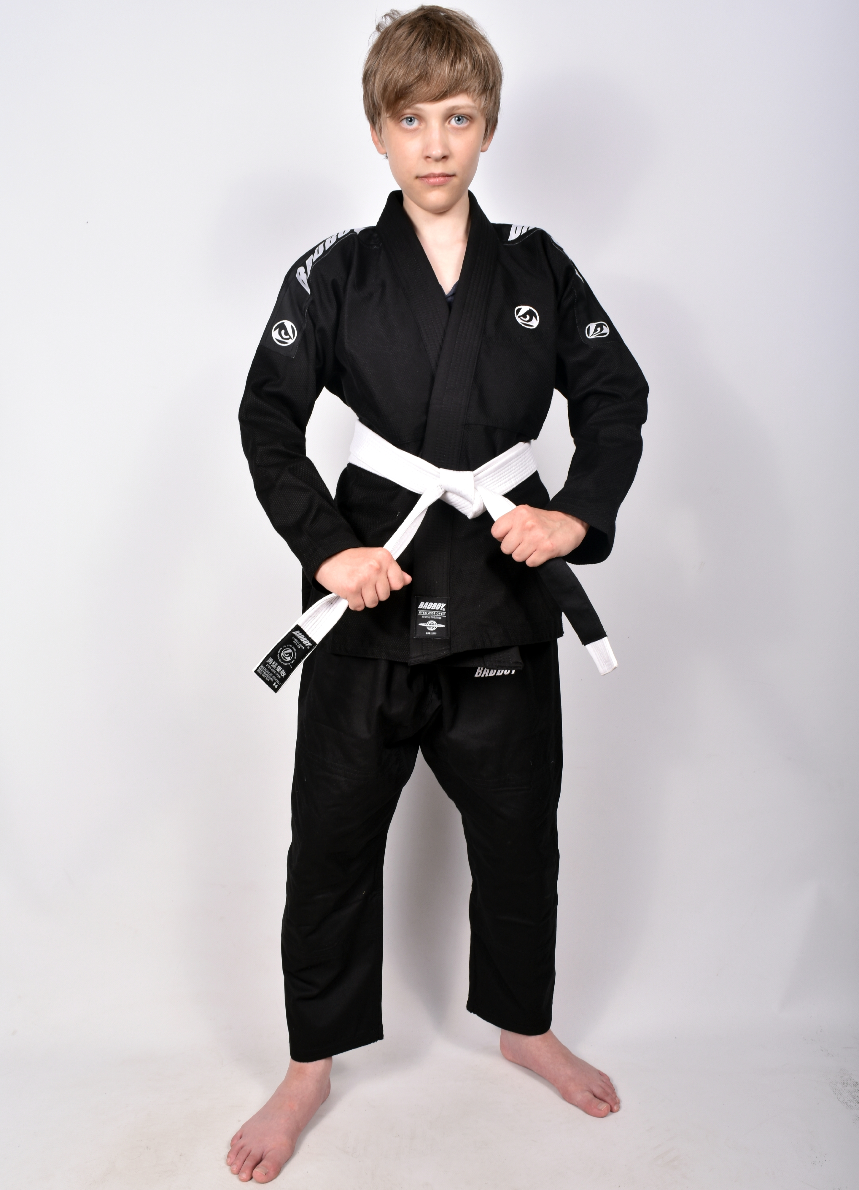 Кимоно Детское Bad Boy Focus BJJ Gi с поясом Black
