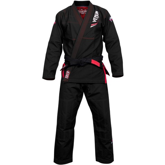 Кимоно Venum Elite Light BJJ Gi Black