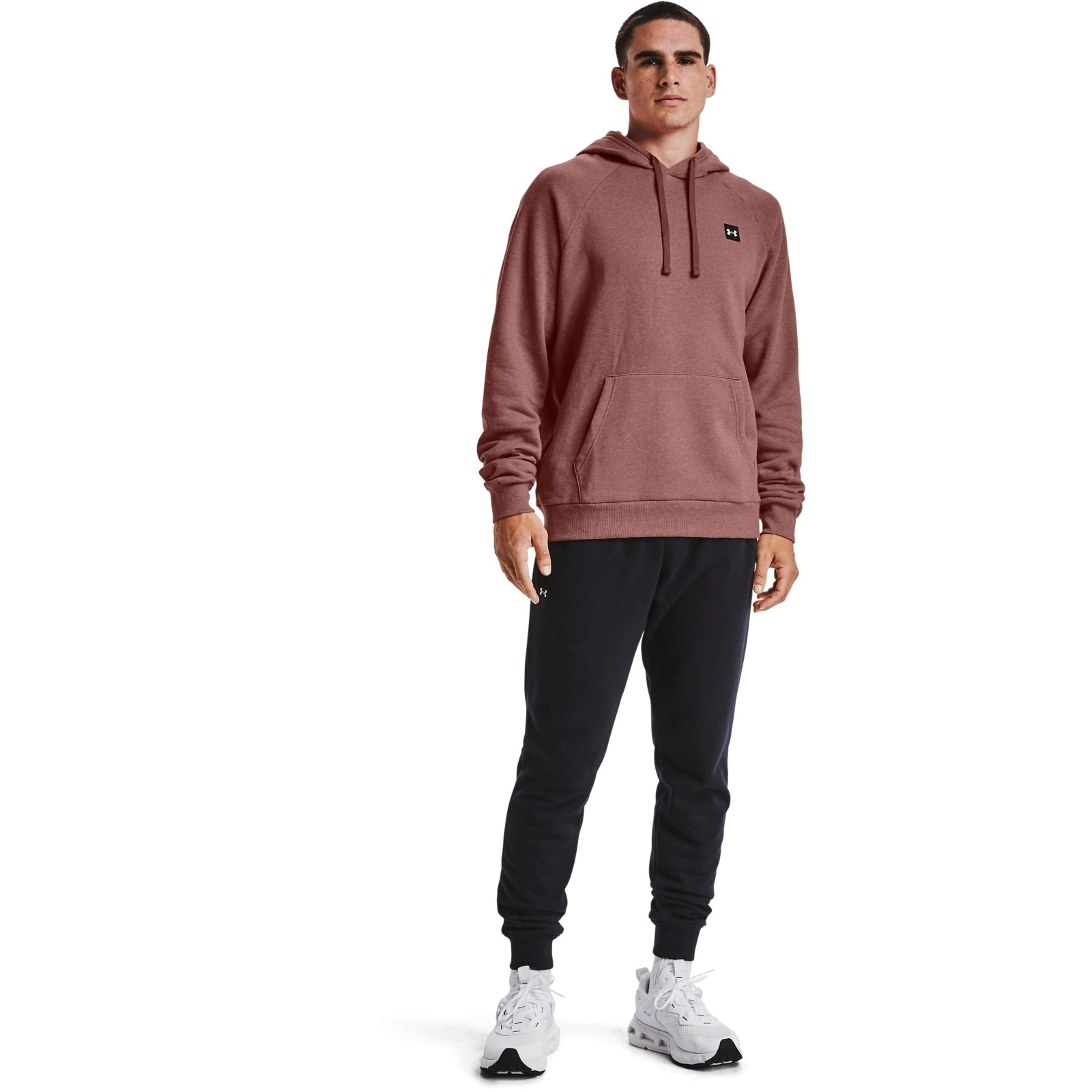 Худи Rival Fleece Hoodie-RED Under Armour Розовый фото 3
