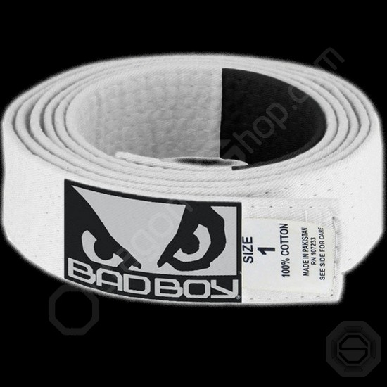 Пояс детский Bad Boy Kids Gi Belt (White)