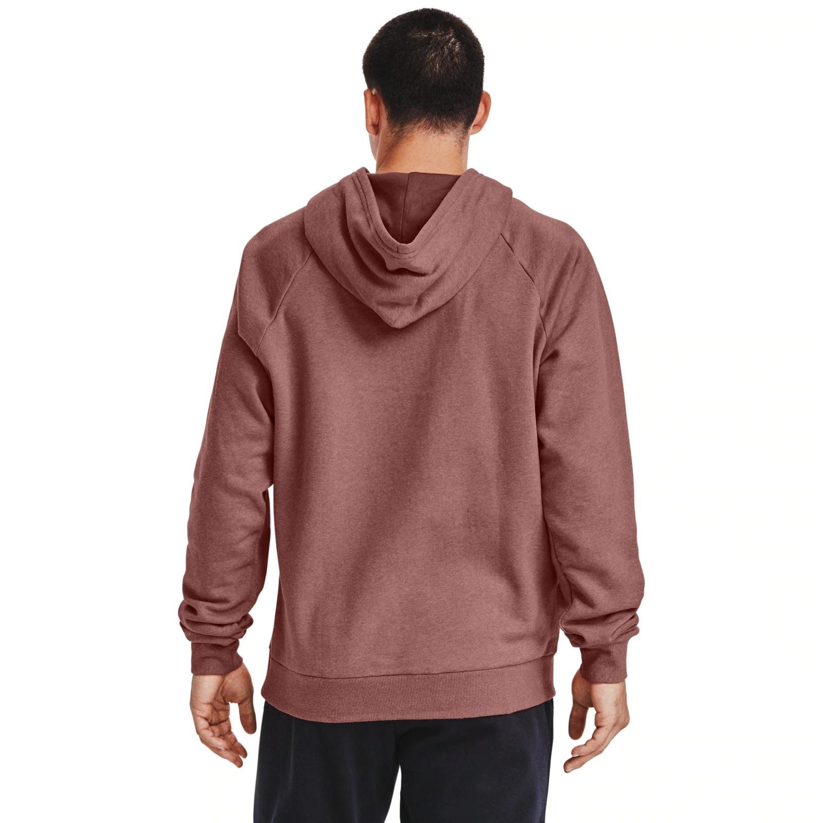 Худи Rival Fleece Hoodie-RED Under Armour Розовый фото 2