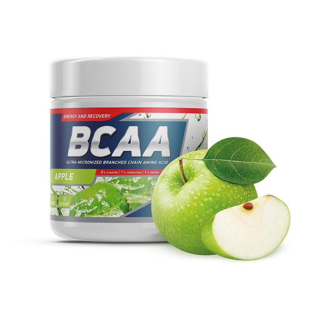 Аминокислота Geneticlab BCAA 2:1:1 250gr/50serv Apple