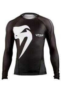 Рашгард Venum Giant rashguard - Long sleeves - Black